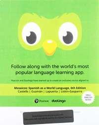 Duolingo -- Access Card -- Mosaicos: Spanish as a World Language (Single-Semester)