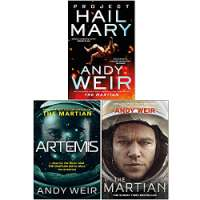 Andy Weir Collection 3 Books Set (Project Hail Mary [Hardcover], Artemis, The Martian)