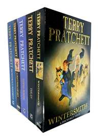 Terry pratchett Discworld novels Series 7 :5 books collection set