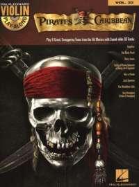 Pirates of the Caribbean: Violin Play-Along Volume 23 (Hal Leonard Violin Play Along)