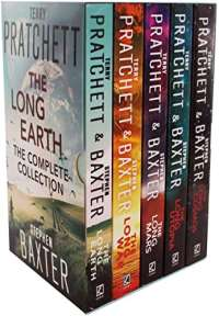 The Long Earth 5 Books Collection Box Set by Terry Pratchett & Stephen Baxter (The long earth, The long war, The long mars, The long utopia, The long cosmos)