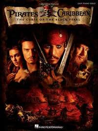 Pirates of the Caribbean: The Curse of the Black Pearl - Musical Score: Easy Piano Solo