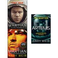 Andy Weir Collection 3 Books Set (The Martian, The Martian Young Readers Edition, Artemis)