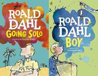Roald Dahl's Going Solo & Boy (2 Book Set)