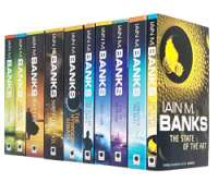 Iain M Banks Culture Series 10 Books Collection Set (Consider Phlebas, The Player of Games, Use of Weapons, The State of the Art, Excession, Inversions, Look To Windward, Surface Detail & More)