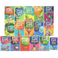 Roald Dahl 16 Books Collection Set (The BFG, Matilda, Esio Trot, George's Marvellous Medicine, Fantastic Mr Fox, The Magic Finger, The Twits, The Witches, Going Solo, The Great Mouse Plot and More)