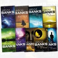 Iain M Banks Collection Culture Series 9 Books Bundle (Surface Detail, Matter, Consider Phlebas, Look To Windward, Inversions, Excession, The State of the Art, Use Of Weapons, The Player Of Games)